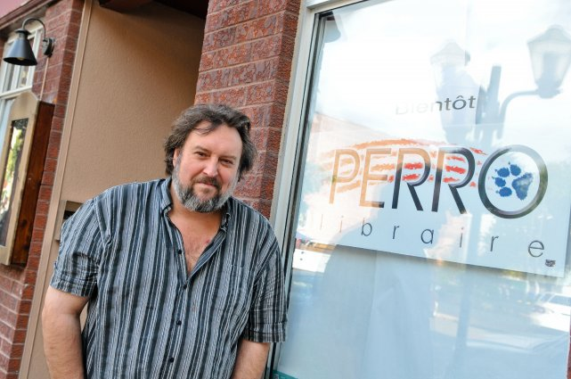 Bryan perro devient libraire arts spectacles for Albert tremblay meuble circulaire