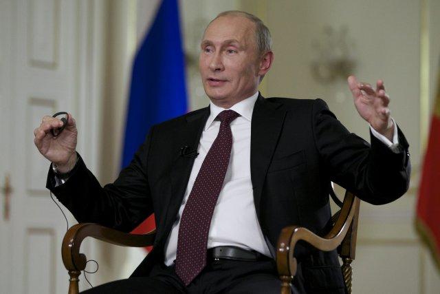 Le président russe Vladimir Poutine.... (Photo Alexander Zemlianichenko, AP)