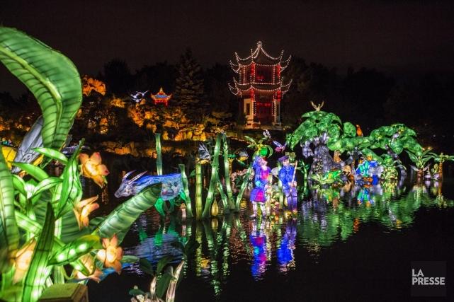 Le Jardin botanique fut longtemps le paradis des... (PHOTO OLIVIER PONTBRIAND, LA PRESSE)