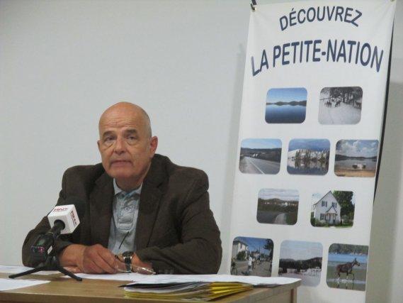 Le courtier immobilier, Luc Poupart... (Jessy Laflamme, LeDroit)