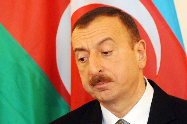 Le président de l'Azerbaïdjan Ilham Aliyev.... (PHOTO MICHAL CIZEK, ARCHIVES AFP)