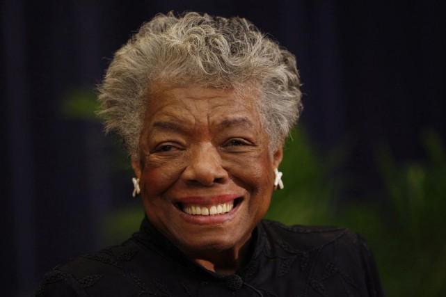 Maya Angelou... (Photo: archives AP)