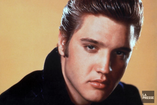 Elvis Presley... (Photo: d'archives)