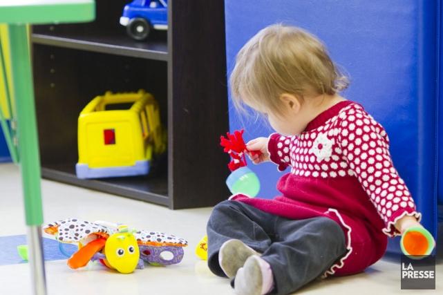 Le Regroupement des centres de la petite enfance des Cantons-de-l'Est (RCPECE)... (Photo archives La Presse)