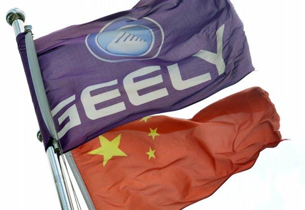 Geely a exporté l'année dernière 100 000 véhicules... (Photo archives AFP)