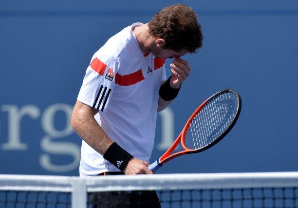 Andy Murrayn'avait jamais été battu par un joueur... (Photo Stan HONDA, AFP)