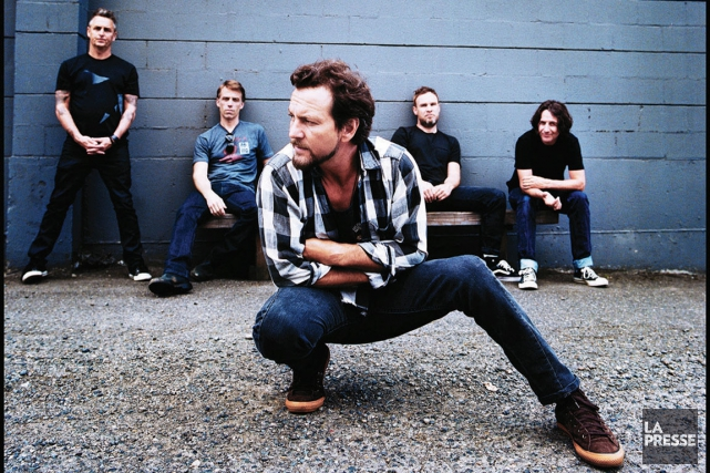 Pearl Jam... (PHOTO ARCHIVES LA PRESSE)