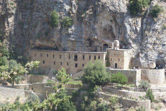 Le couvent Mar Lichaa est l'un des plus... (Photo Thomas Abgrall, collaboration spéciale)