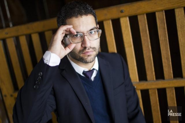 Dans Pourquoi Bologne, Alain Farah dissémine la trajectoire... (PHOTO OLIVIER PONTBRIAND, LA PRESSE)