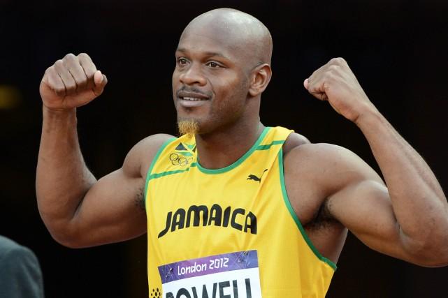 Asafa Powell... (Photo Franck Fifre, archives AFP)