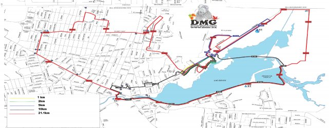 À l'occasion du Demi-Marathon de Granby, plusieurs rues... (photo fournie DMG)