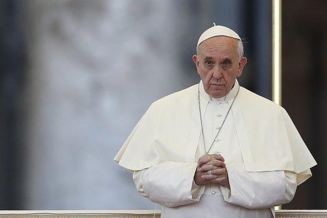 Le pape François a lancé samedi un vibrant appel à «travailler pour la paix et... (Photo TONY GENTILE, Reuters)