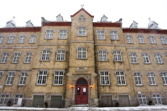 Le Séminaire Saint-Alphonse, à Sainte-Anne-de-Beaupré... (Photothèque Le Soleil)