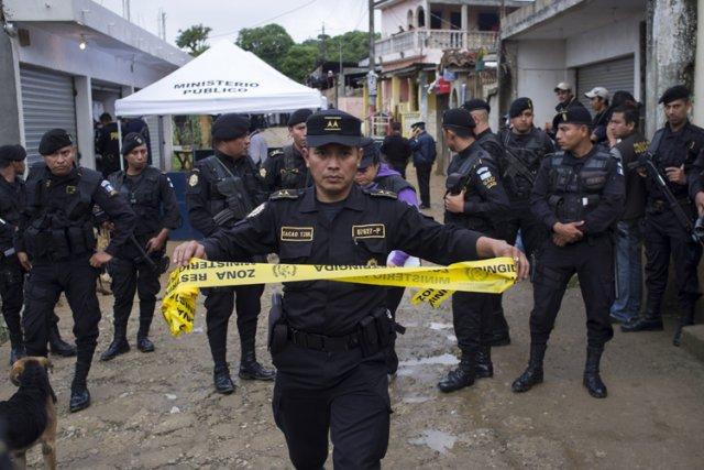 Le Guatemala connaît un haut niveau de violence,... (Photo: AP)