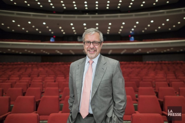 Marc Blondeau, PDG de la Place des Arts.... (Photo: Édouard Plante-Fréchette, archives La Presse)