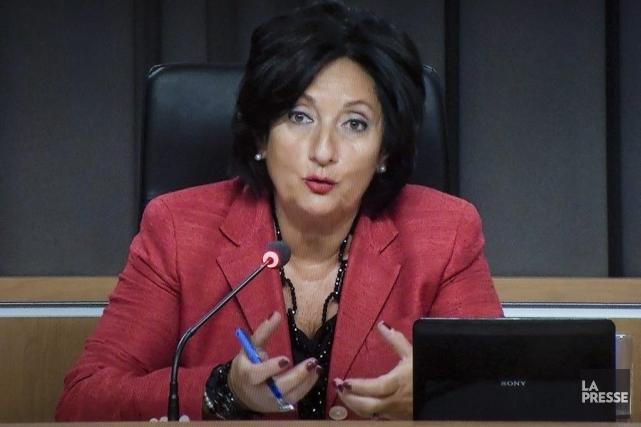 La commissaire France Charbonneau.... (Photo La Presse Canadienne)