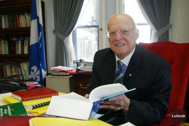 Gérald Beaudoin... (Archives, LeDroit)
