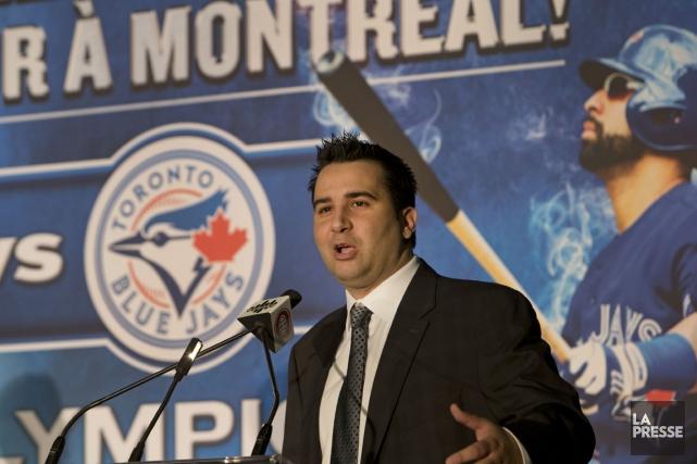 Le vice-président principal et directeur général des Blue... (Photo Robert Skinner, La Presse)