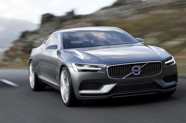 La Volvo Concept Coupé présentée à Francfort.... (Photo fournie par Volvo)