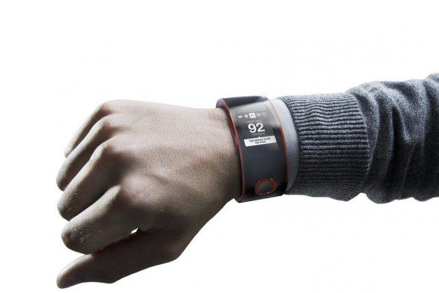 Le but de cette montre: recueillir des informations... (Photo fournie par Nissan)