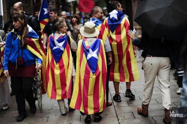 Le village d'Arenys de Munt, bastion de l'indépendance... (PHOTO JOSEP LAGO, AFP)