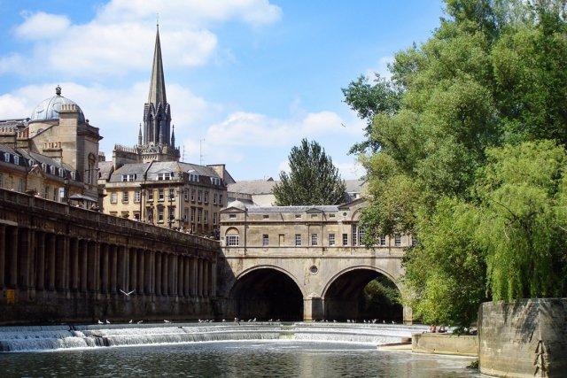 En août 2013, la ville historique de Bath,... (Photo shutterstock.com)