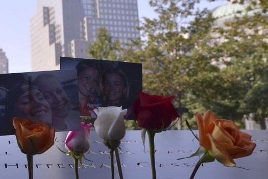 Le site des Twin Towers, à Manhattan.... (Associated Press)