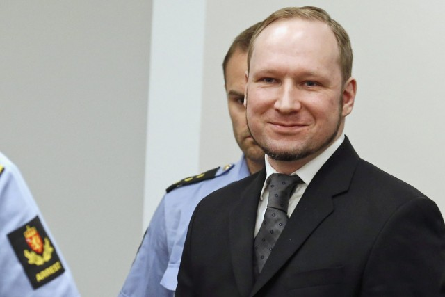 Anders Behring Breivik a été condamné à 21... (PHOTO HEIKO JUNGE, ARCHIVES AP)