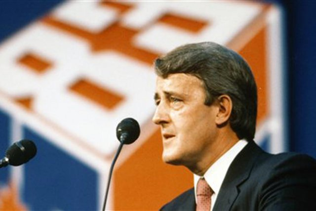 Brian Mulroney... (PHOTO COLLECTION DE BRIAN MULRONEY, BIBLIOTHÈQUE ET ARCHIVES CANADA)