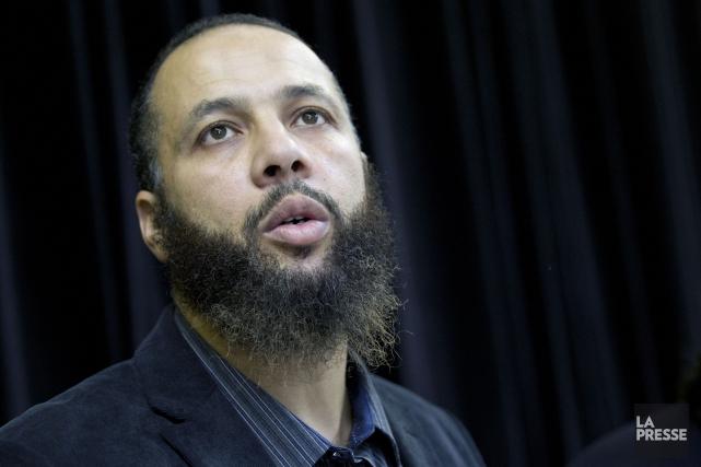 Le porte-parole du Collectif québécois contre l'islamophobie, Adil... (PHOTO OLIVIER JEAN, LA PRESSE)
