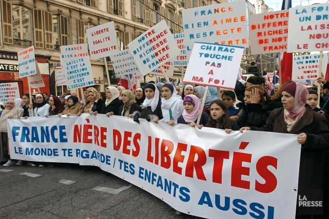La France a un modèle de laïcité qualifié... (Photo PASCAL GUYOT, AFP)
