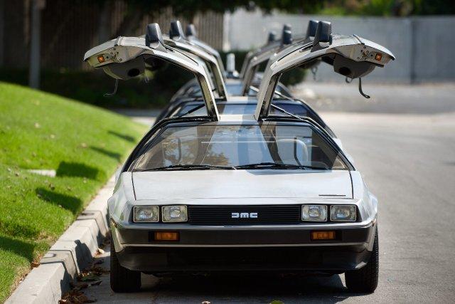 Environ 9000 exemplaires de la DeLorean DMC-12 ont... (Photo AP)