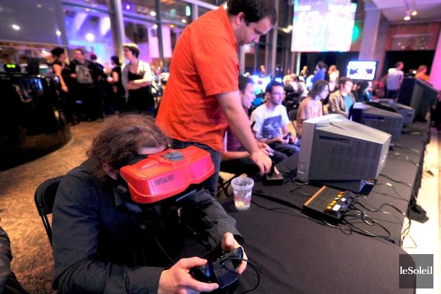 Le Warpzone accueille le meilleur du jeu vidéo... (Le Soleil, Erick Labbé)
