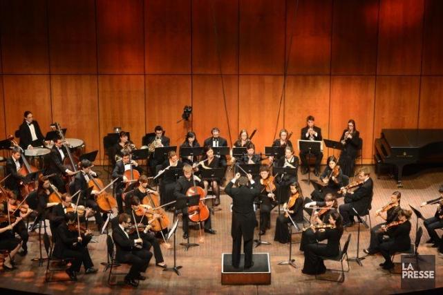 La saison de huit concerts de l'Orchestre philharmonique... (Photo Bernard Brault, La Presse)