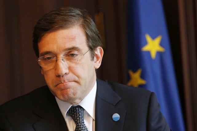 Le premier ministre portugais, Pedro Passos Coelho.... (PHOTO TOBIAS SCHWARZ, ARCHIVES REUTERS)