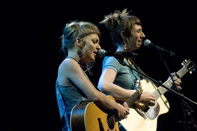 «Mélange entre les soeurs McGarrigle et les Denis... (PHOTO STÉPHANIE MANTHA, LA VOIX DE L'EST)