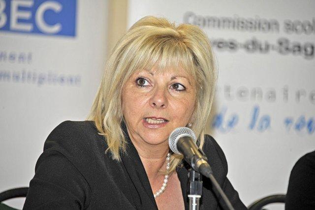 Josée Bouchard, présidente de la Fédération des commissions... (ARCHIVES, Le Quotidien)