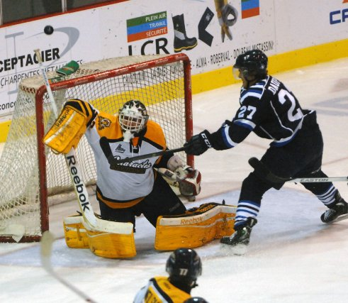 Les Cataractes se sont inclinés 5-3 face au... (Photo: Le Quotidien)