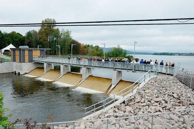 La Ville de Québec ayant inauguré dimanche le... (Photo Le Soleil, Patrice Laroche)