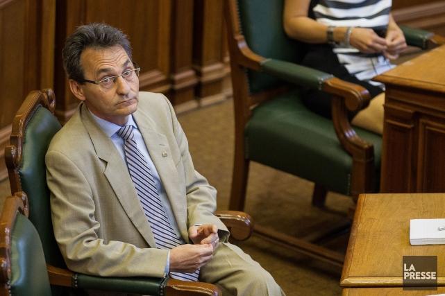 Le chef de Projet Montréal, Richard Bergeron, a... (PHOTO EDOUARD PLANTE-FRÉCHETTE, LA PRESSE)