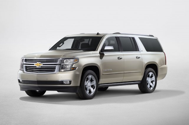 Le nouveau Chevrolet Suburban 2015.... (Photo fournie par General Motors)