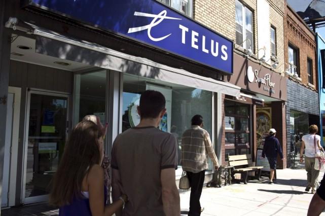 Dans la région de Québec, TELUS dépensera, cette... (Archives La Presse Canadienne)