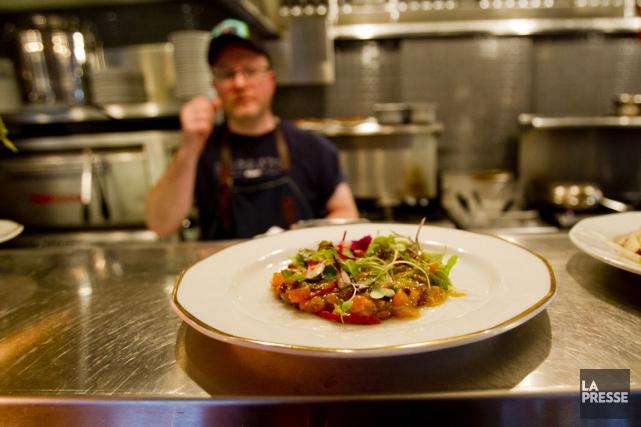 Impasto est un restaurant accueillant, sympathique, où on... (Photo Olivier Jean, La Presse)