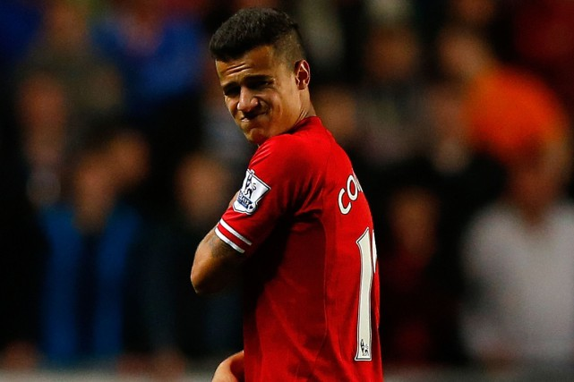 Philippe Coutinho... (Photo Andrew Yates, archives AFP)