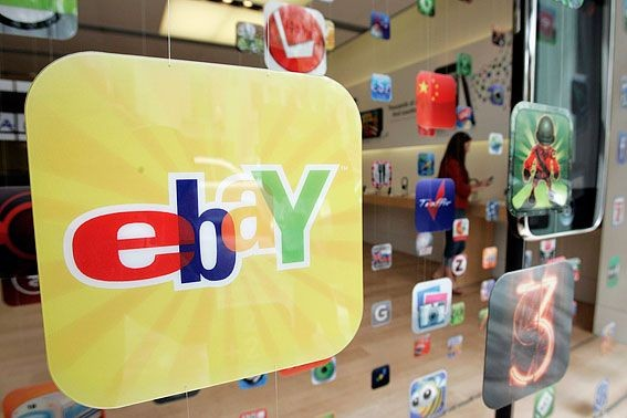 Sur son site internet, eBay revendique 128 millions... (Photo AP)