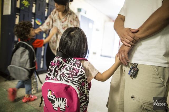 Le gouvernement libéral va de l'avant avec le projet de maternelle quatre ans... (PHOTO EDOUARD PLANTE-FRECHETTE, ARCHIVES LA PRESSE)