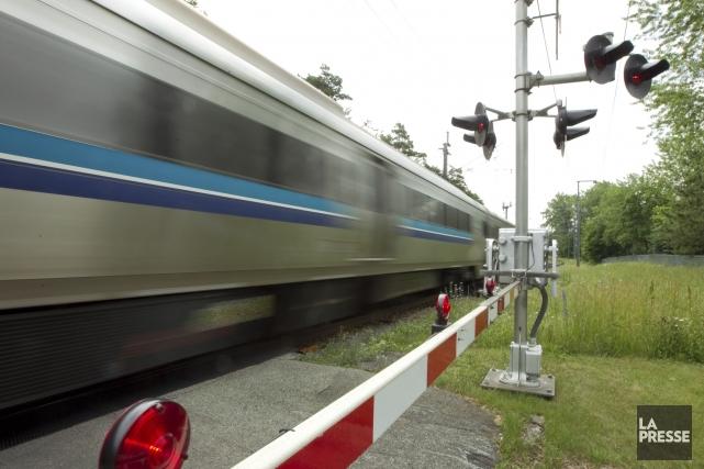 La façon la plus sécuritaire et économique pour empêcher les collisions entre... (Photo Hugo-Sebastien Aubert, La Presse)