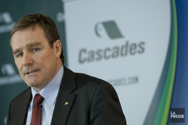 Le PDG de Cascades, Mario Plourde.... (PHOTO DAVID BOILY, ARCHIVES LA PRESSE)
