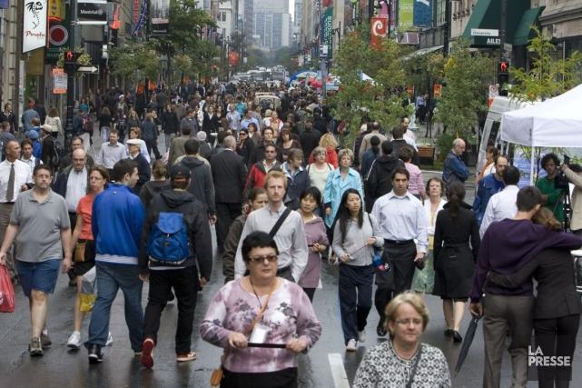 La journée En ville sans ma voiture n'est... (Photo archives La Presse)