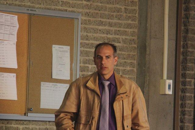 Le policier Michel Champagne.... (photo archives La Voix de l'Est)